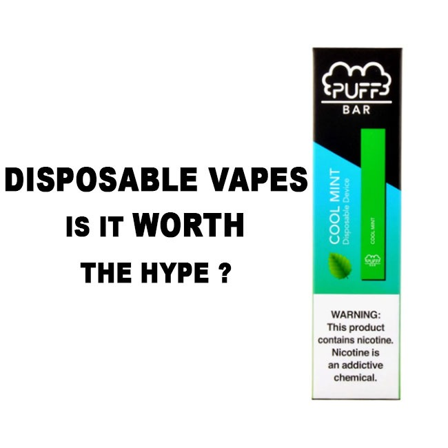 DISPOSABLE VAPES IS IWORTH THE HYPE?